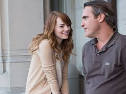 "Emma Stone and Joachim Phoenix in ""Irrational Man"""