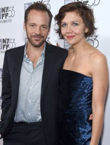 Peter Sarsgaard, starring in Experimenter, came with Maggie Gyllenhaal