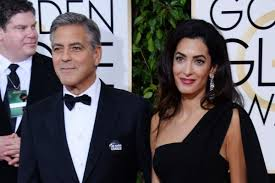 George Clooney and Amal Clooney at the New York Film Festival 2015