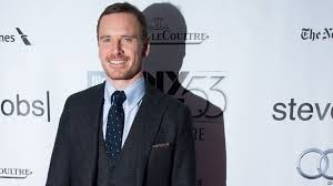 Michael Fassbender appeared to promote Steve Jobs