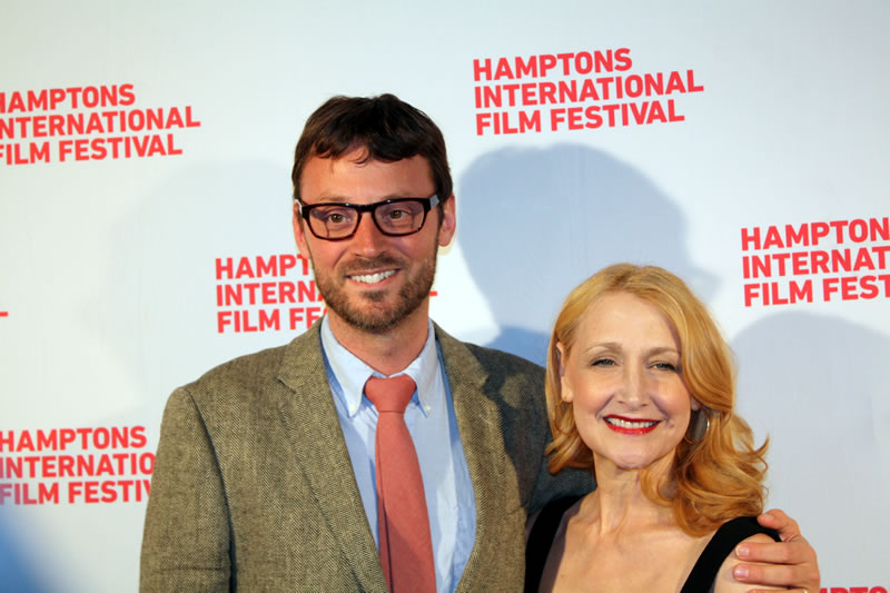 2128912144c HIFF Artistic Director David Nugent Patricia Clarkson at the 2014 HIFF