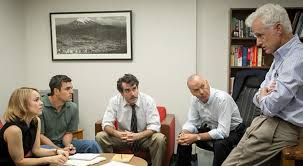 """Spotlight"" seeks to expose a widespread cover-up, starring Mark Ruffalo, Michael Keaton, John Slattery, and an all-star cast."